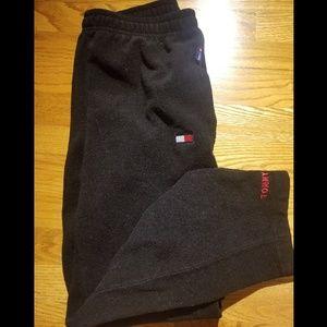 Vintage Tommy Hilfiger Black Fleece Sweatpants